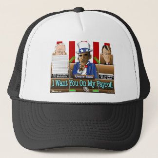 Uncle Sam Obama Trucker Hat
