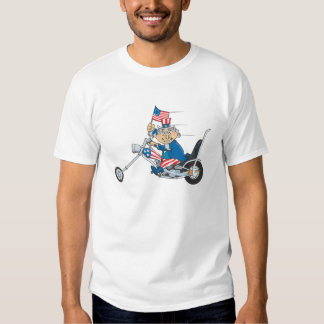 Uncle Sam on chopper T-Shirt