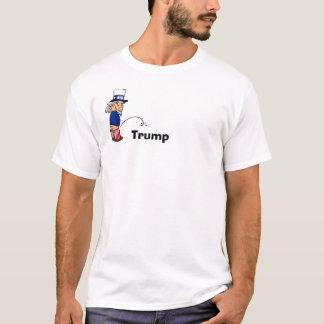 Uncle Sam peeing on Trump-Tshirt T-Shirt