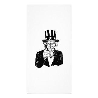 Uncle Sam Photo Card