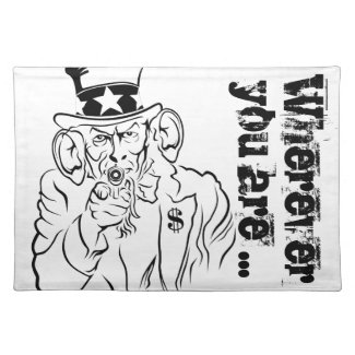 Uncle Sam Placemat