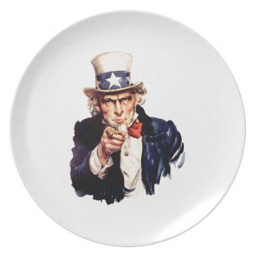 Uncle Sam Plate