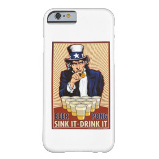 uncle Sam playing beer pong iPhone 6 case