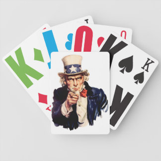 Uncle Sam Playing Cards