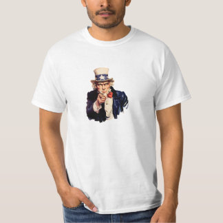 UNCLE SAM POINT T-Shirt
