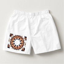 Uncle Sam Pointing Finger Kaleidoscope Boxers