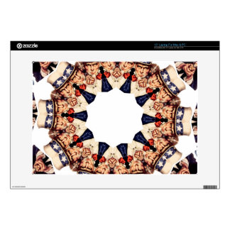 Uncle Sam Pointing Finger Kaleidoscope Laptop Decal