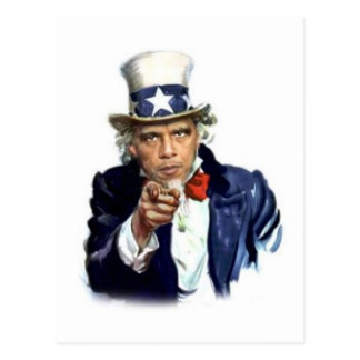Uncle Sam Postcard