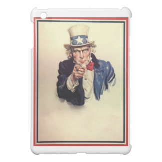Uncle Sam Poster iPad Mini Covers