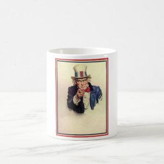 Uncle Sam Poster Template Coffee Mug