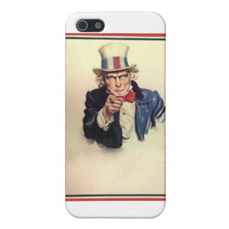 Uncle Sam Poster Template iPhone 5 Case