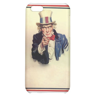 Uncle Sam Poster Template iPhone 5C Covers