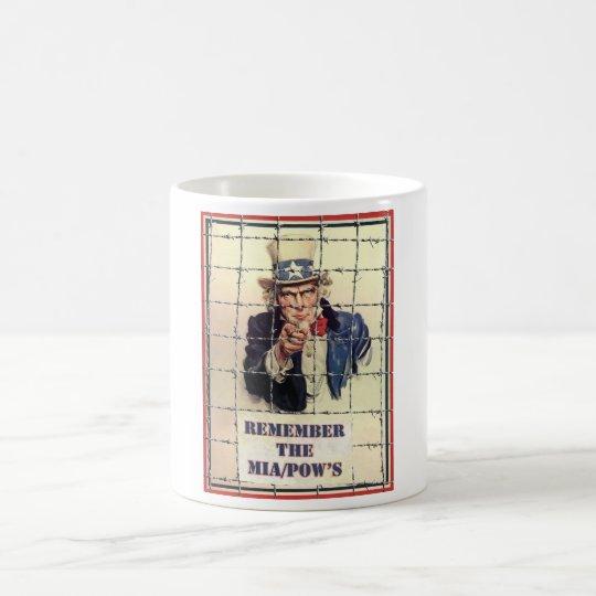 Uncle Sam POW-MIA Coffee Mug