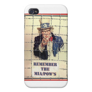 Uncle Sam POW-MIA iPhone 4/4S Case
