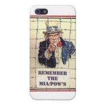 Uncle Sam POW-MIA iPhone SE/5/5s Case