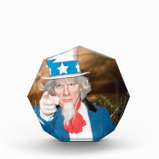 Uncle Sam Products Acrylic Award