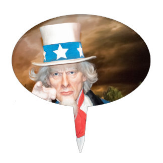 Uncle Sam Products Cake Topper