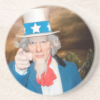 Uncle Sam Products Drink Coaster