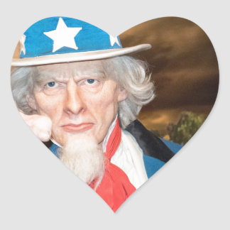 Uncle Sam Products Heart Sticker