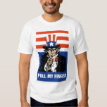 Uncle Sam-Pull my finger Tee Shirt