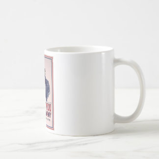 Uncle Sam Recruitment Poster Coffee Mug