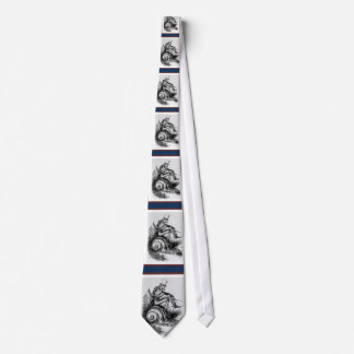 Uncle Sam Riding the Congressional Snail Neck Tie