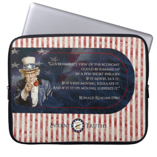 Uncle Sam - Ronald Reagan Laptop Sleeve