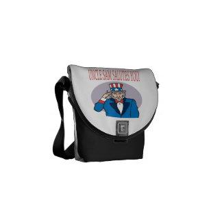 Uncle Sam Salutes You 1.png Messenger Bag