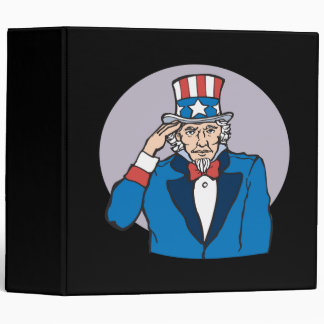 Uncle Sam Salutes You Binder