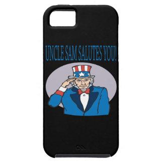 Uncle Sam Salutes You iPhone SE/5/5s Case
