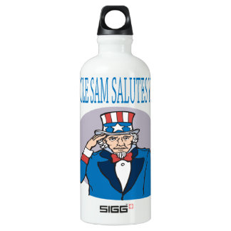 Uncle Sam Salutes You Water Bottle