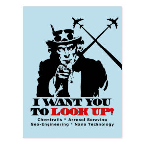 Uncle Sam says I Want You To Look Up Postcard