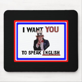 Uncle Sam says.... Mouse Pads