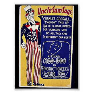 Uncle Sam Says Posters