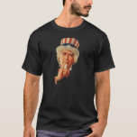 "Uncle Sam says ""Shhh"" T-Shirt"