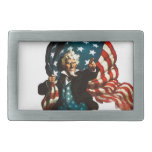 Uncle Sam Shows the Way Belt Buckle