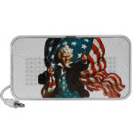 Uncle Sam Shows the Way iPhone Speakers