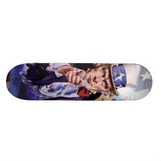 Uncle Sam Skateboard