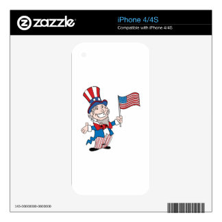 Uncle Sam Skin For The iPhone 4