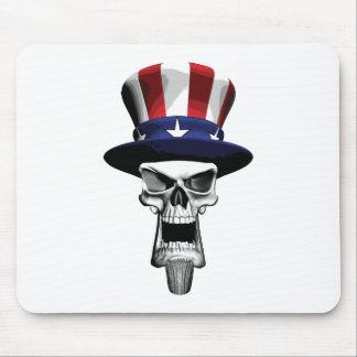 Uncle Sam Skull Mousepad