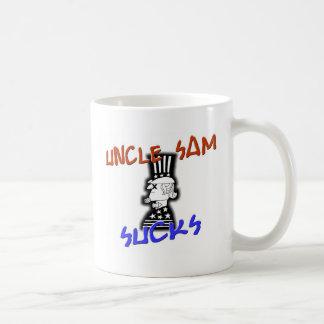 Uncle Sam Sucks Coffee Mug