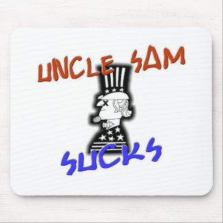Uncle Sam Sucks Mouse Pad