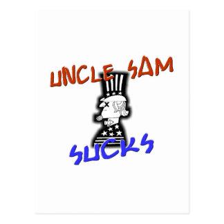 Uncle Sam Sucks Post Cards