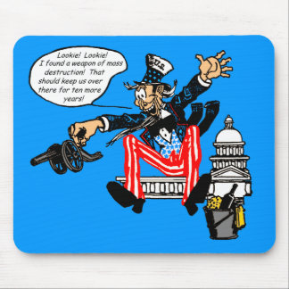 Uncle Sam, Ten More Years mousepads