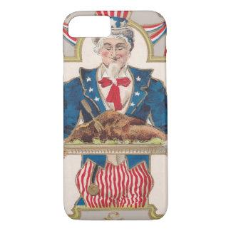 Uncle Sam Thanksgiving Turkey iPhone 8/7 Case