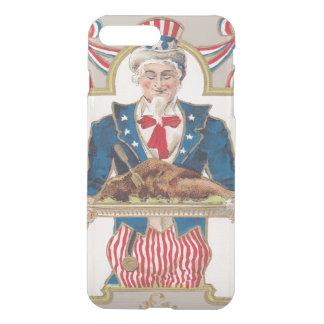 Uncle Sam Thanksgiving Turkey iPhone 8 Plus/7 Plus Case
