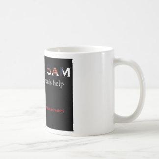 Uncle Sam the taxpayer needs help Classic White Coffee Mug