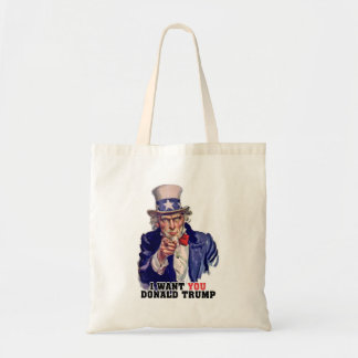 uncle sam tote bag