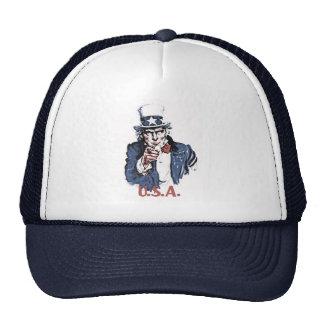 Uncle Sam Trucker Hat