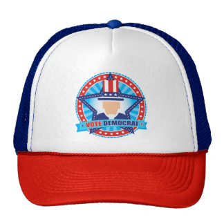 Uncle Sam Vote Democrat Trucker Hat